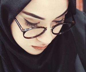 hijab, beauty, and style image