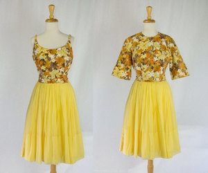 etsy, 50's rockabilly, and vintage 1960's dress image