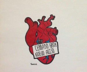 heart, closed, and frases image