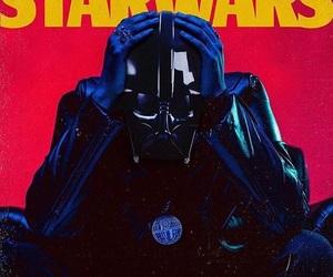 darth vader, star wars, and the weeknd image