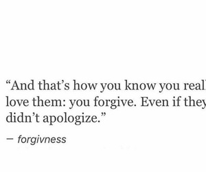 quotes, forgiveness, and love image