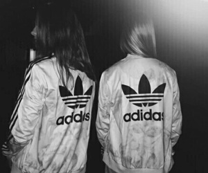 adidas, friends, and black image