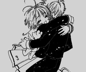 manga, card captor sakura, and captor image