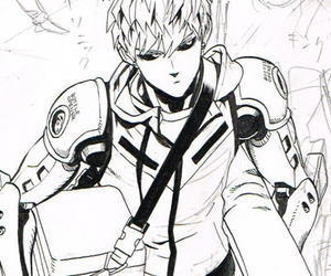 genos, opm, and onepunch-man image