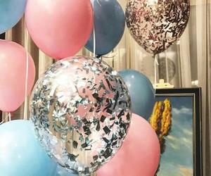baloon, baloons, and celebrate image