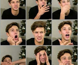 cam, funny, and face image