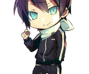 noragami, yato, and chibi image