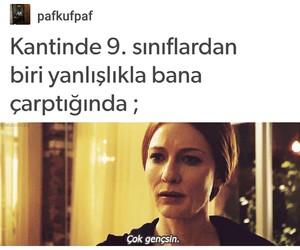 tumblr, komik, and türkçe image