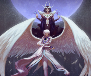 angel, anime, and yue image
