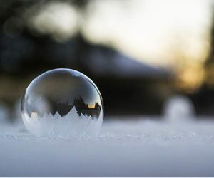 bubble, christmas, and frozen image