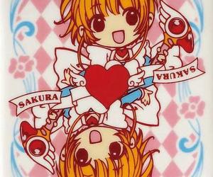 anime, sakura card captor, and kawaii image
