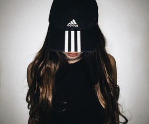 adidas, aesthetic, and black image