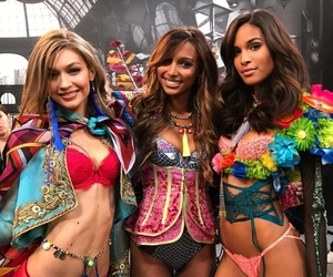 gigi hadid, jasmine tookes, and cindy bruna image