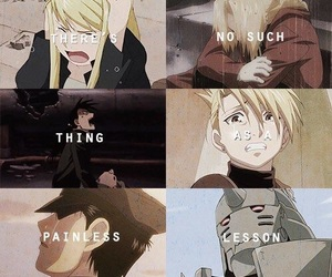 anime, sad, and Full Metal Alchemist image