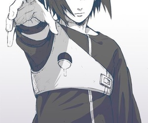 naruto, anime, and sasuke image