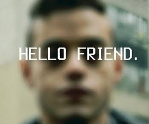 mr robot, rami malek, and elliot image