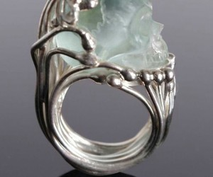 crystal, jewelry, and rings image