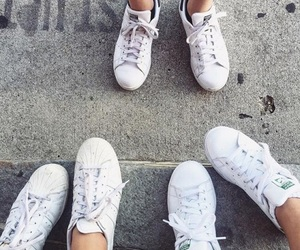 shoes, street, and sneakers image