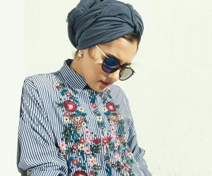 embroidered, fashion, and dina tokio image
