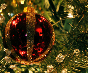 baubles and holiday image