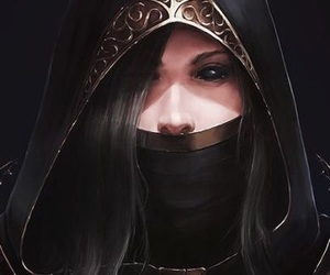 assassin, scary, and girl image