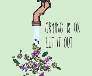 cry, quotes, and motivation image