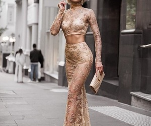 dress, nudes, and style image
