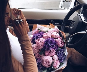 flowers, fashion, and car image