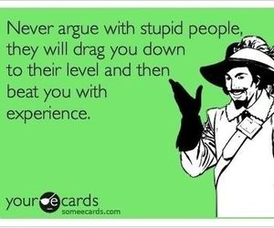 ecard, funny, and stupid people image
