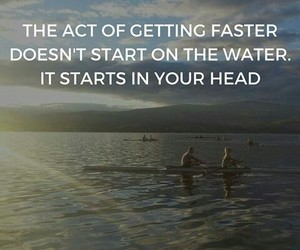 athlete, motivation, and rowing image