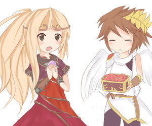 pit, uprising, and kid icarus image