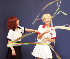 girls, korean, and indie image