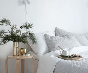 art, bedroom, and gold image
