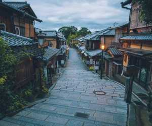 city, japan, and street image