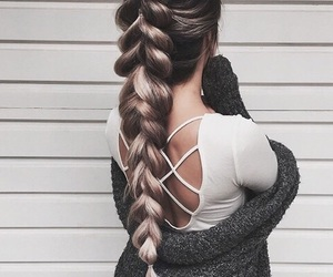 braids, clothes, and fashion image