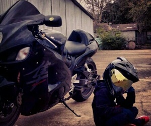 motorbike, motorcycle, and kids image