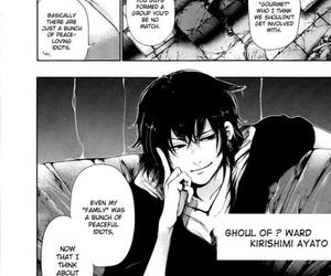 manga and tokyo ghoul image