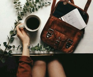 coffee, bag, and vintage image