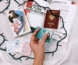 passport, love rosie, and student card image