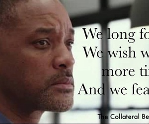 quote, will smith, and collateral beauty image