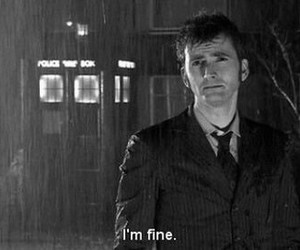 david tennant, doctor who, and black and white image