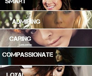 smile and pretty+little+liars image