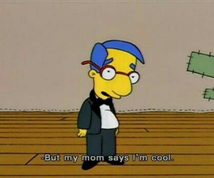 cool, simpsons, and the simpsons image
