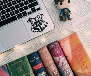 book, harry potter, and j.k rowling image