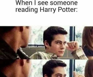 harry potter, book, and teen wolf image