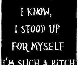 bitch and quotes image
