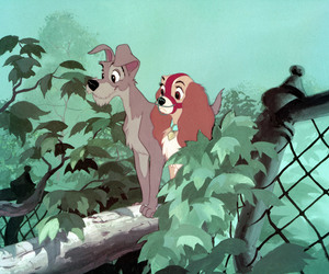 disney and lady and the tramp image