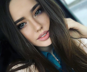 adorable, beautiful, and green eyes image