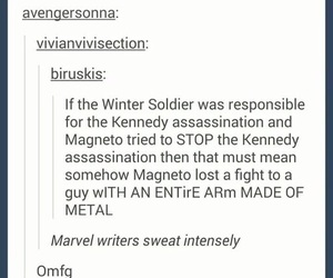 magneto, funny, and tumblr image