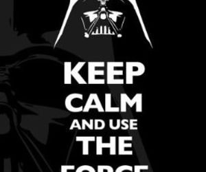 keep calm, star wars, and darth vader image